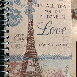 Journal- NEW- Christian Notebook 1 Corinthians 16
